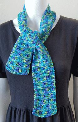 How to Knit an Easy Ruffle Scarf | eHow