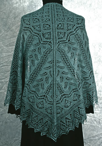 Knitting Pattern Central Lace Shawls : Lace Shawl Knitting Pattern A Knitting Blog