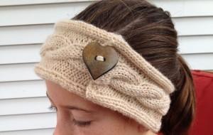Knit Headband Patterns with Button | A Knitting Blog