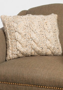 Knitted Infinity Scarves Patterns : Cable Knit Pillow Cover Patterns A Knitting Blog