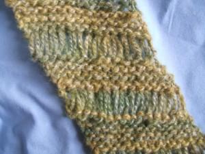 Free Diagonal Drop Stitch Scarf Pattern Pictures