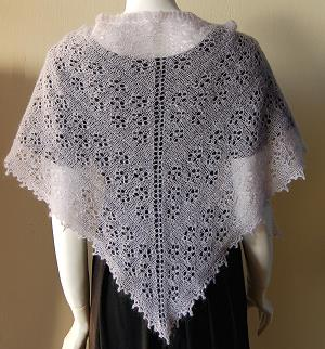 Knitting Patterns For Lace Shawls : Lace Shawl Knitting Pattern A Knitting Blog