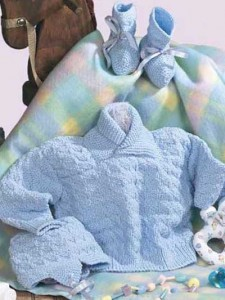 Hand Knitted Baby Clothes Photo