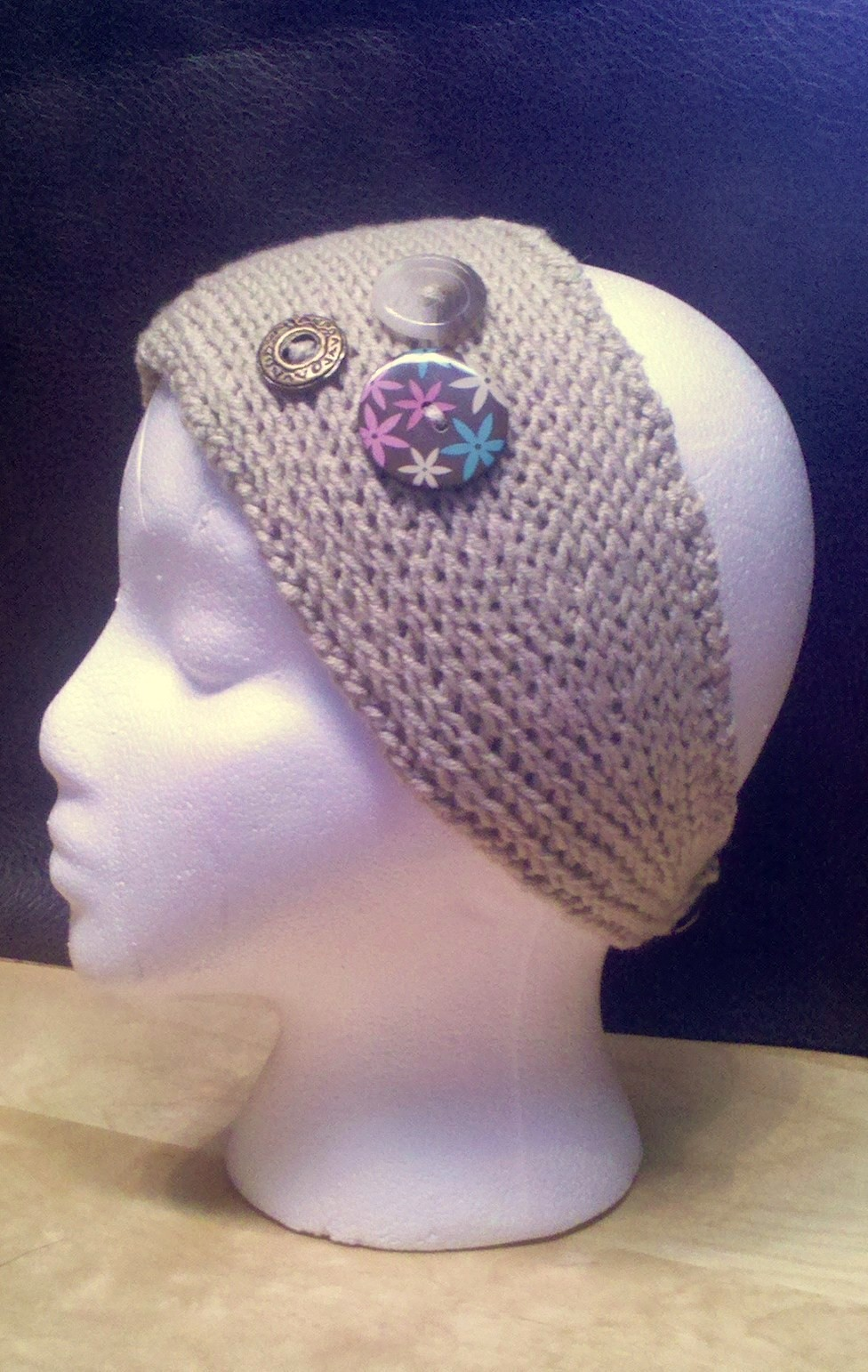 Knit Headband Patterns with Button | A Knitting Blog