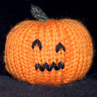 Halloween Knitting Patterns : Knit Pumpkin Patterns A Knitting Blog