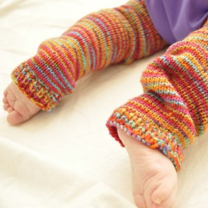 Baby Leg Warmers - Knitting and Crochet Patterns on