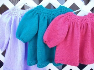 Knitted Baby Girl Clothes Pattern Images