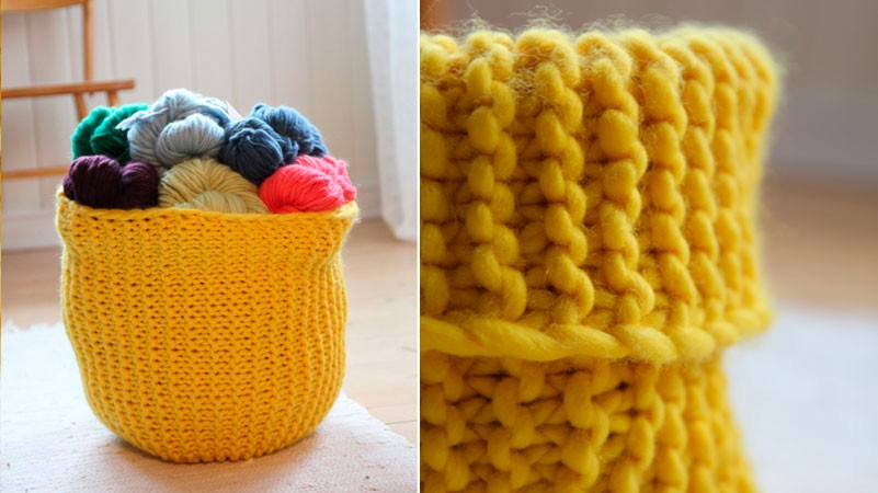 Knitted Basket Patterns A Knitting Blog