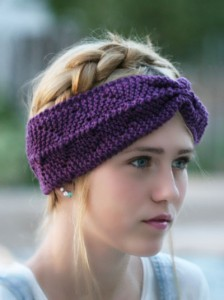 Photos of Loom Knit Anchor Headband Pattern