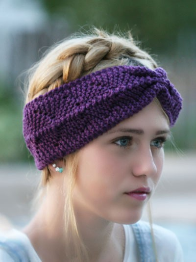 Pattern Knit Headband : Loom Knit Headband Patterns A Knitting Blog