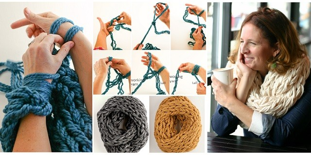 Arm Knitting Step By Step Tutorial : Arm knitting blanket patterns a