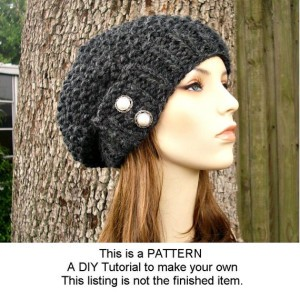 Black Knit Beanie Patterns Pictures