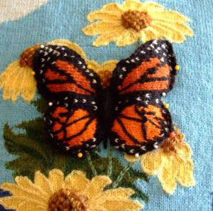 Butterfly Knitting Pattern : Knitted Butterfly Patterns A Knitting Blog