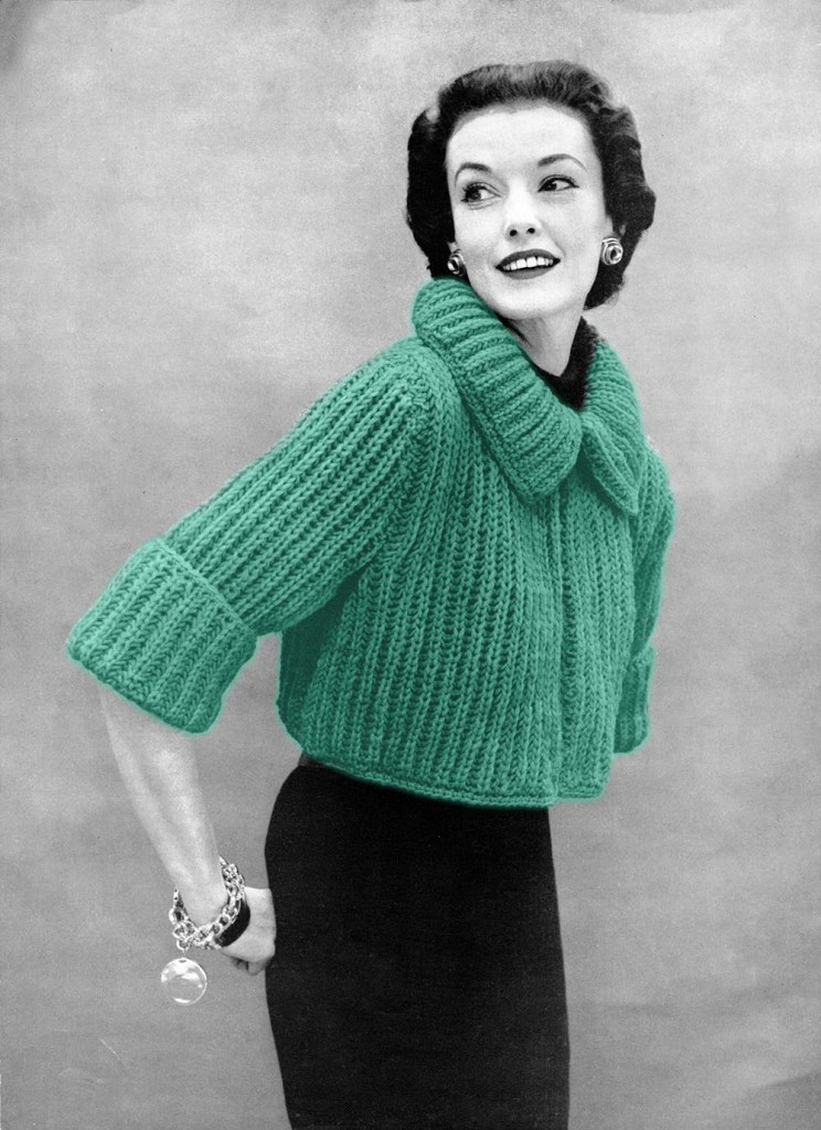 Sweater Knit : Vintage knitting patterns a