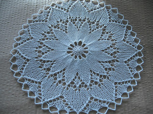 Knitting Lace Patterns Free : Knit Doily Patterns A Knitting Blog