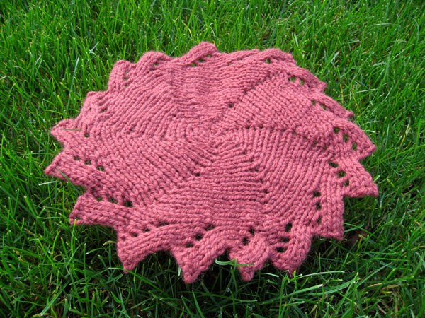 Knit Doily Patterns A Knitting Blog