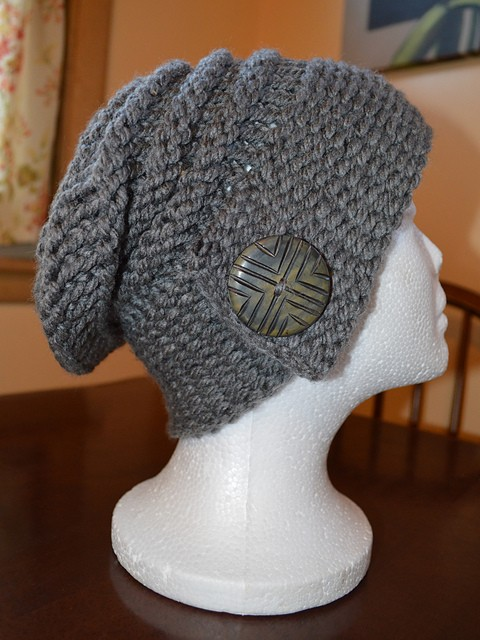 Free Knit Pattern For Boot Toppers : Loom Knit Slouchy Hat Patterns A Knitting Blog