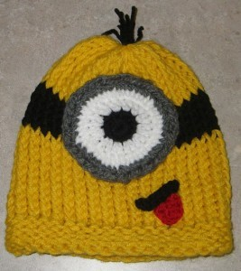Images of Minion Beanie Hat Knitting Pattern