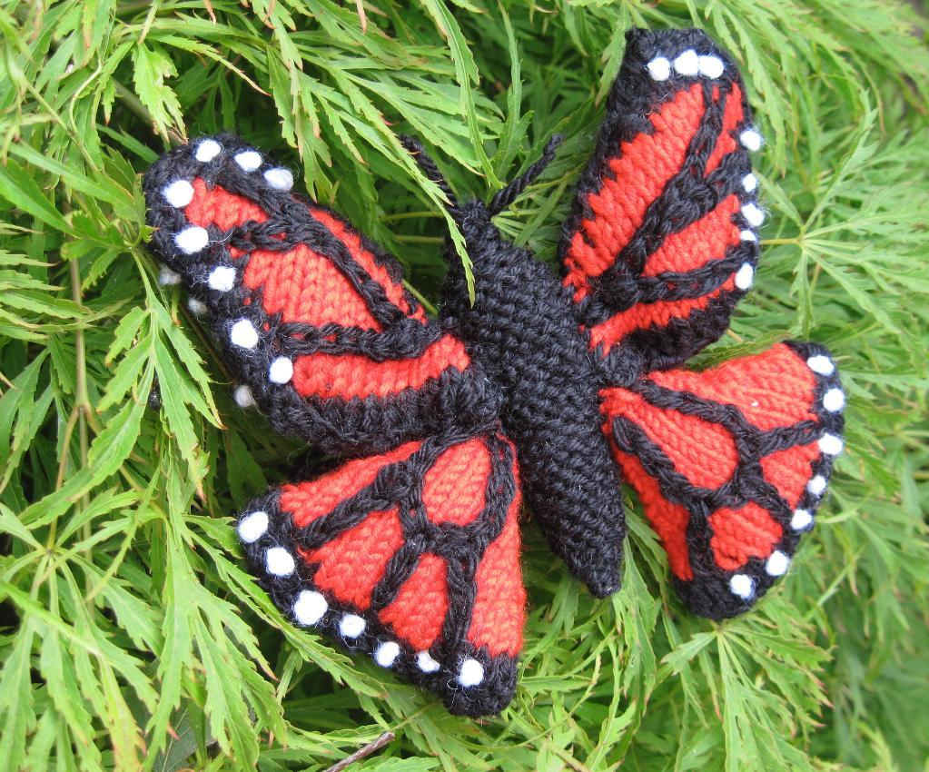 Knitting Pattern Butterfly : Knitted butterfly patterns a knitting