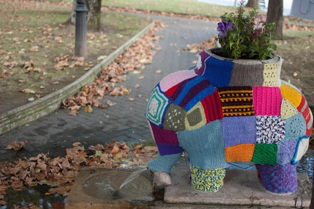 Yarn Bombing A Knitting Blog