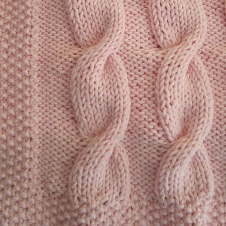 Contemporary Beginners Blanket Knitting Pattern Embellishment